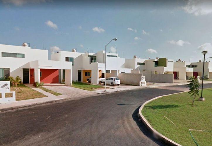 El presunto asalto tuvo lugar en el fraccionamiento Paseo del Ángel. (Novedades Yucatán)