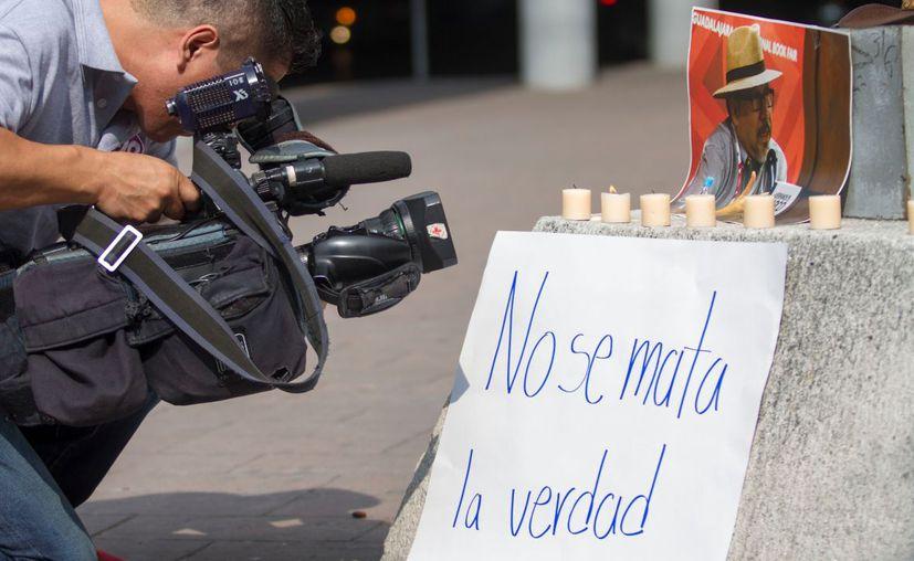El lunes y este martes fueron asesinados dos periodistas en México. (El Financiero)