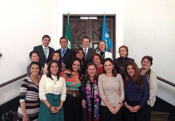El encuentro de trabajo fue realizado en las oficinas de la Unicef en la Ciudad de México. (Cortesía/SIPSE)