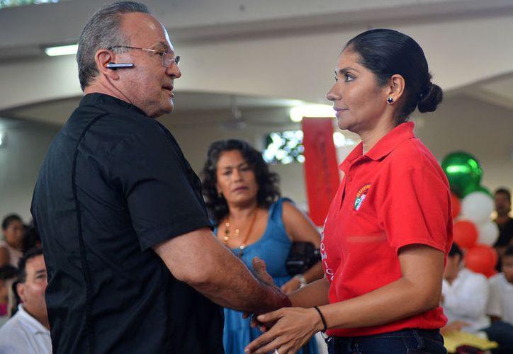 Geny Canto fue electa en agosto de 2017 por quienes hoy buscan destituirla. (Gustavo Villegas/SIPSE)