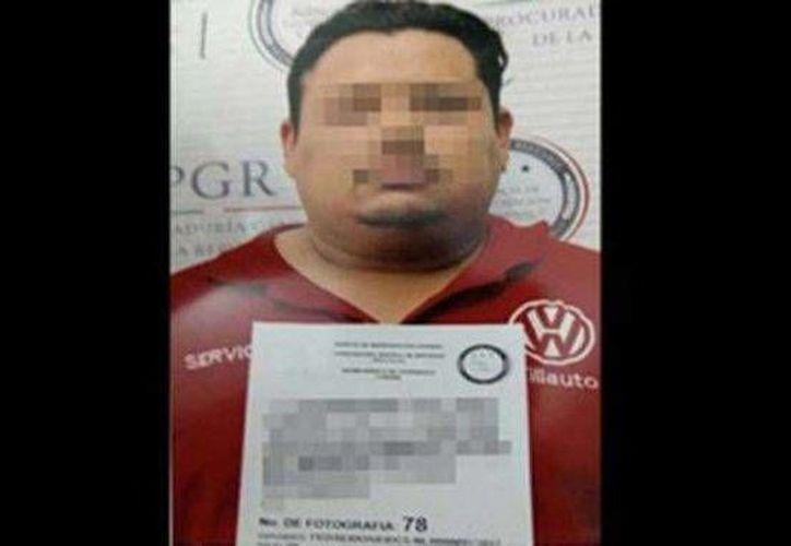 El peligroso narcotraficante Eleazar N, más conocido como El Cochi, ya está preso en Durango. (Foto especial tomada  elsoldepuebla.com.mx)