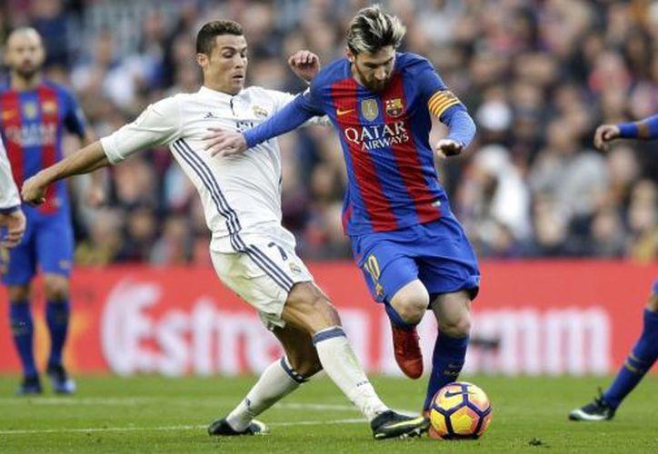 El duelo entre el Real Madrid de Cristiano Ronaldo y el Barça de Leo Messi es el más visto en el mundo. (Contexto)