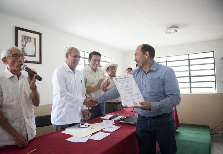 Marco Vela Reyes fungirá como presidente del Comité para el periodo 2013- 2017. (Cortesía)