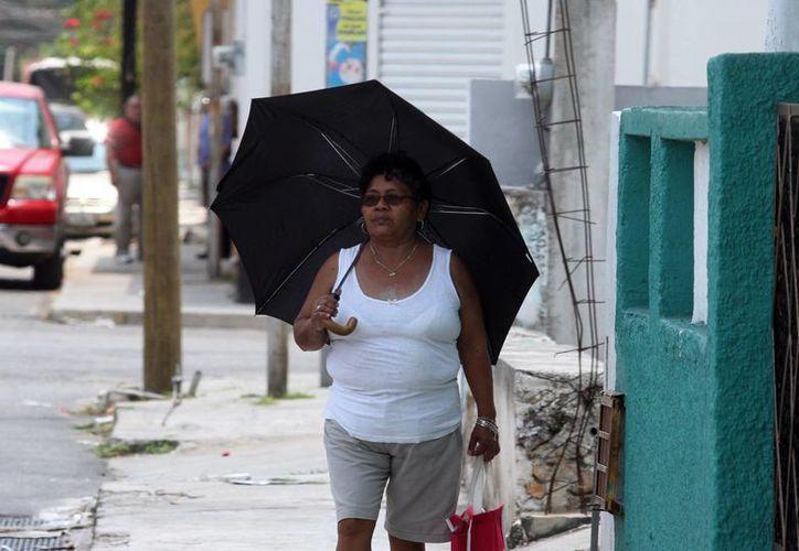 Las temperaturas máximas  para hoy sábado y mañana domingo en Yucatán oscilarán entre los 36 y 40 grados centígrados, de acuerdo a la Conagua. (Amílcar Rodríguez/Milenio Novedades)
