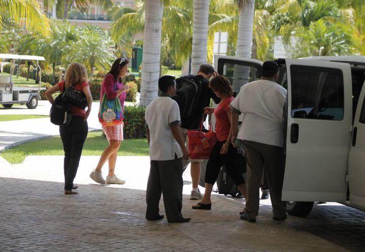 Aumenta el gasto promedio de los turistas. (Israel Leal/SIPSE)