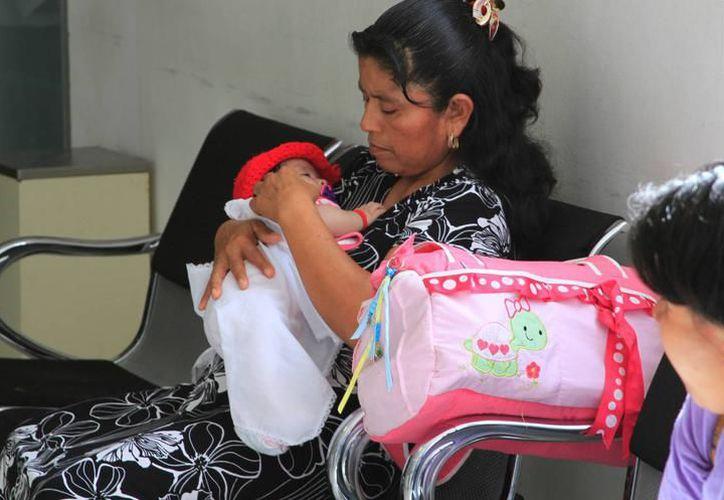 En lo que va del año más de 550 mujeres se han convertido en madres, al menos en el municipio de Othón P. Blanco. (Foto: Alejandra Carrión / SIPSE)