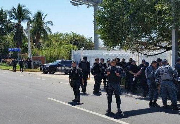 Los 13 agentes federales involucrados en un secuestro ingresaron al penal 'El Rincón' de Tepic, Nayarit. (Milenio)