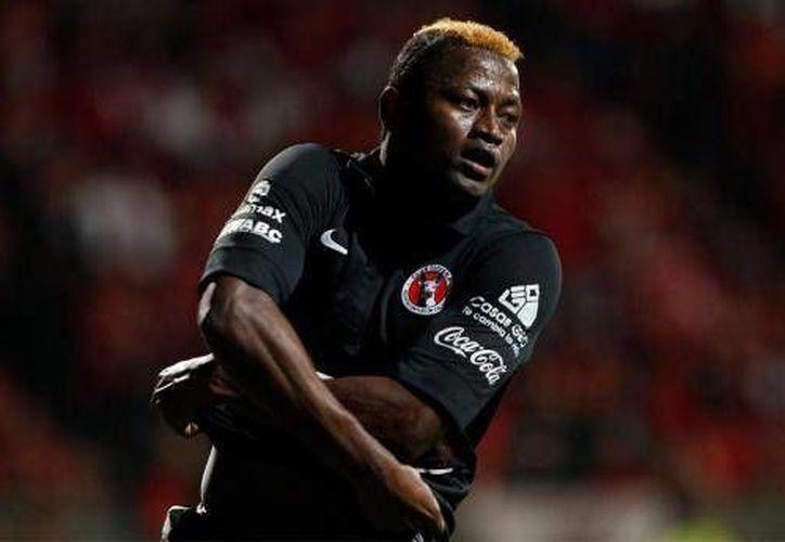 Riascos reconoció que pasa por una presión bastante intensa ante la falta de gol, (aztecaamerica.com)