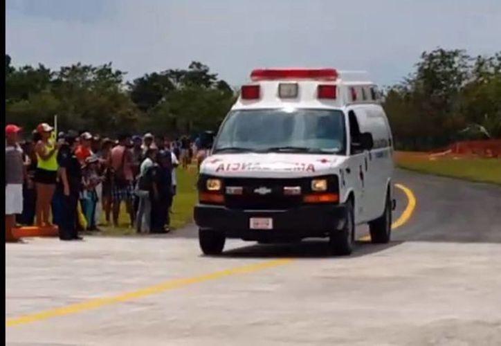El cuerpo del piloto guatemalteco Juan Miguel García-Salas Castañeda, fallecido en el Aeroshow de Cozumel, ya fue entregado a su familia. (Redacción/SIPSE)