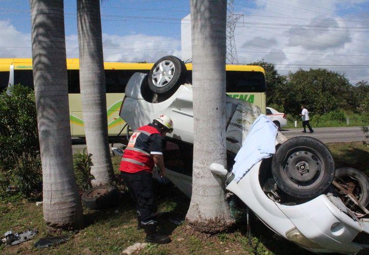 Accidentes de tránsito fatales. (Foto: SIPSE)