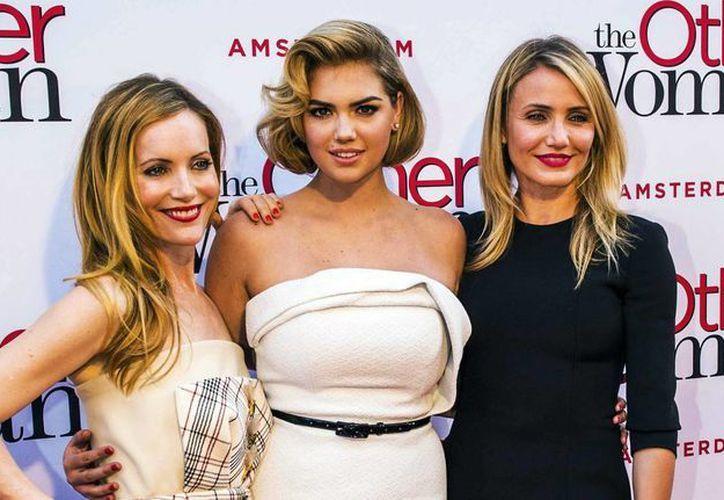 Este fin de semana se estrena la película 'The Other Woman' en la que actúan Leslie Mann, Kate Upton y Cameron Diaz. (Archivo/EFE)