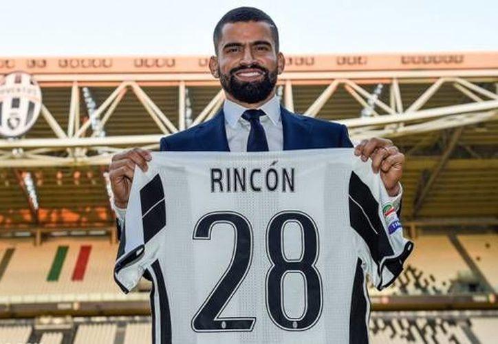 Tomás Rincón, mediocampista de Venezuela, jugará con Juventus. (Foto: @juventusfc)
