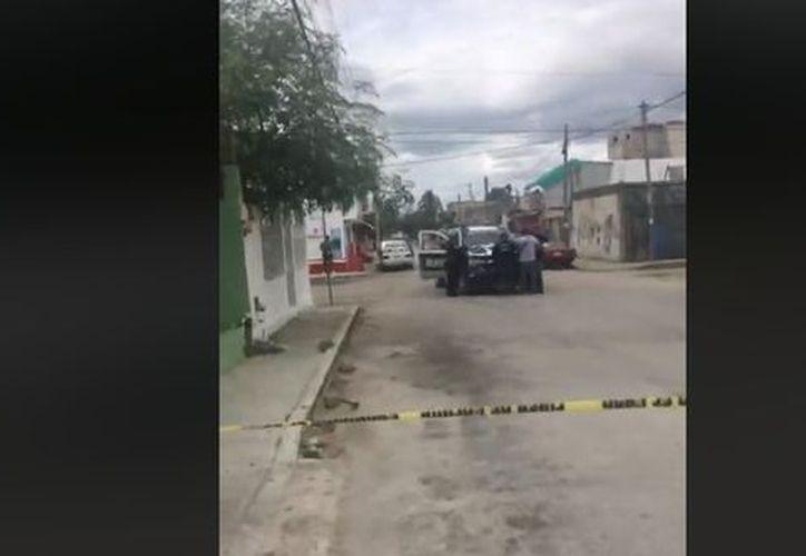 Balean a una mujer: sería el cuarto incidente violento que ocurre durante el día en Cancún. (Contexto/Internet)