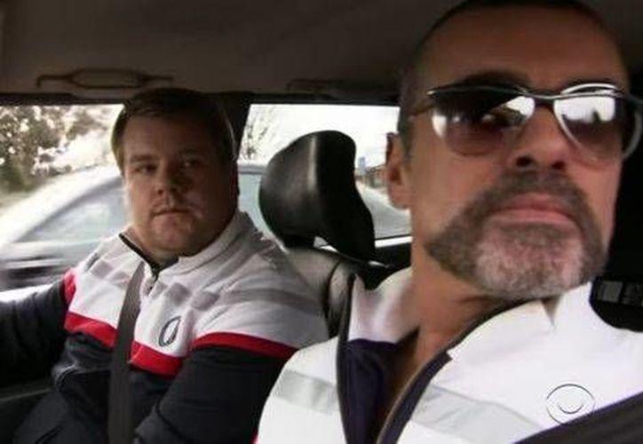George Michael fue el precursor del popular 'Carpool Karaoke', famoso segmento del programa  'Late Late Show' de James Corden.(Captura de video/Youtube)