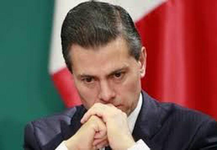El presidente Enrique Peña Nieto es el peor evaluado de los últimos tres mandatarios de México. (Contexto/Internet).