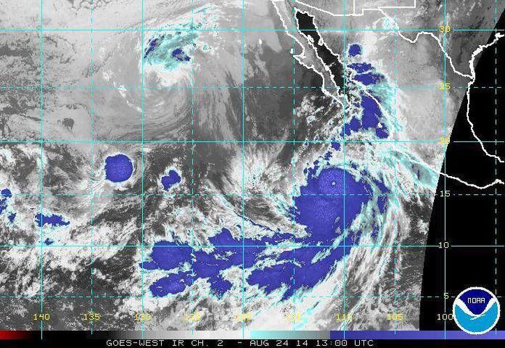 El huracán Marie podría causar deslaves y desbordamiento de ríos en estados como Baja California Sur, Jalisco, Colima, Michoacán y Guerrero. (ssd.noaa.gov)