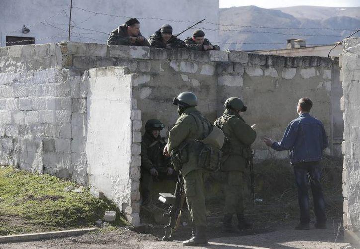 Ucrania entregó una carta a la ONU detallando todos los movimientos militares y amenazas que han soportado del Gobierno ruso. (EFE)