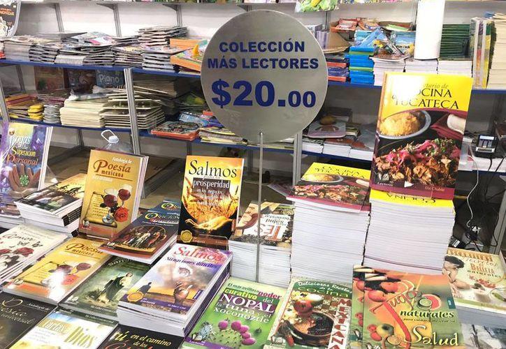 Libros a muy bajos precios ofrecen diversas editoriales en la séptima edición de la Filey