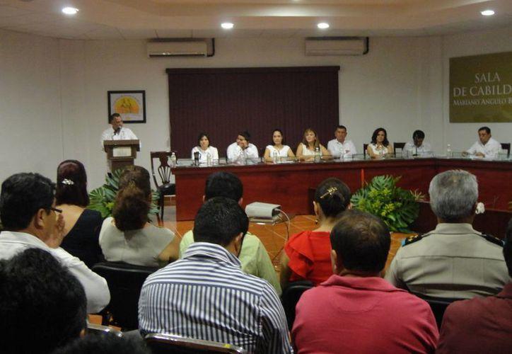 En el evento se presentaron las autoridades del Poder Ejecutivo, Legislativo y Judicial. (Paloma Wong/SIPSE)