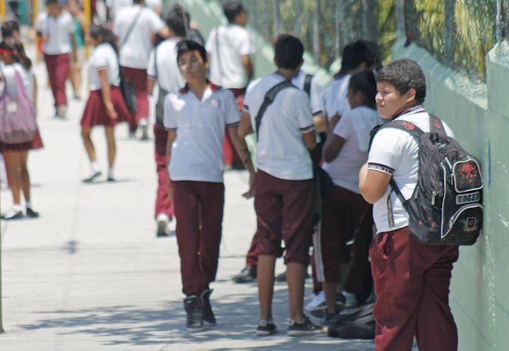 Registran más de 196 mil alumnos en el municipio de Benito Juárez. (Jesús Tijerina/SIPSE)