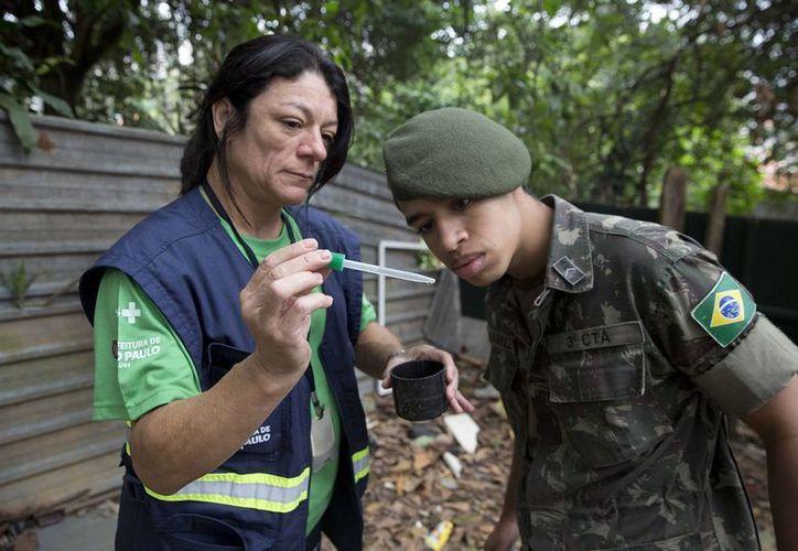 Autoridades de Brasil han intensificado las inspecciones en los hogares debido a que la precaución es fundamental para evitar el estancamiento de aguas pues favorecen la concentración de focos de mosquitos. (AP)