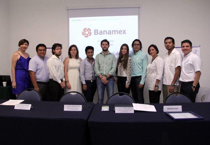 Los emprendedores yucatecos figuran entre las 64 empresas que fueron seleccionadas de las 997 propuestas que se recibieron durante la convocatoria. (Milenio Novedades)