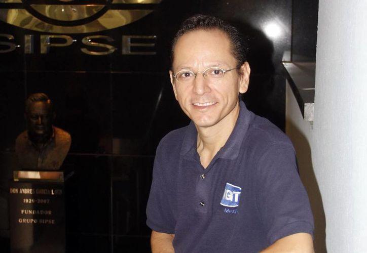 Ernesto Maurín Guerrero, dirigente de Amedea. (SIPSE)