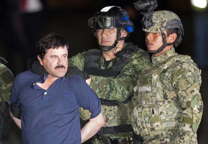 'El Chapo' fue recapturado el pasado 8 de enero en Los Mochis, Sinaloa. (Archivo/Agencias)