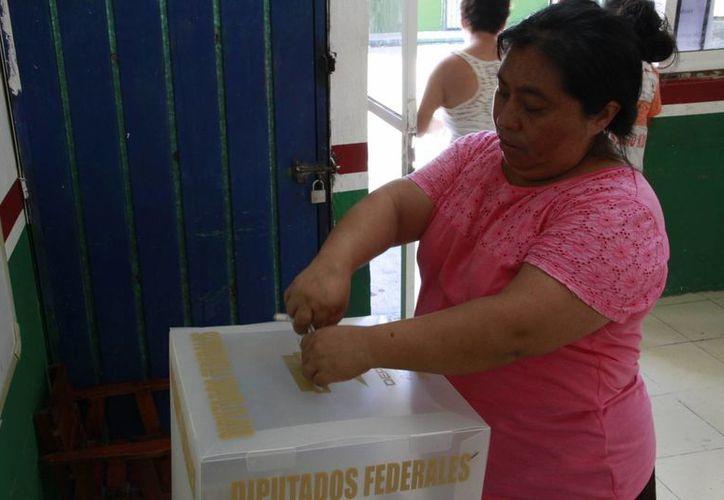 Quintana Roo no alcanza completar la disposición del INE para las próximas elecciones. (Tomás Álvarez/SIPSE)