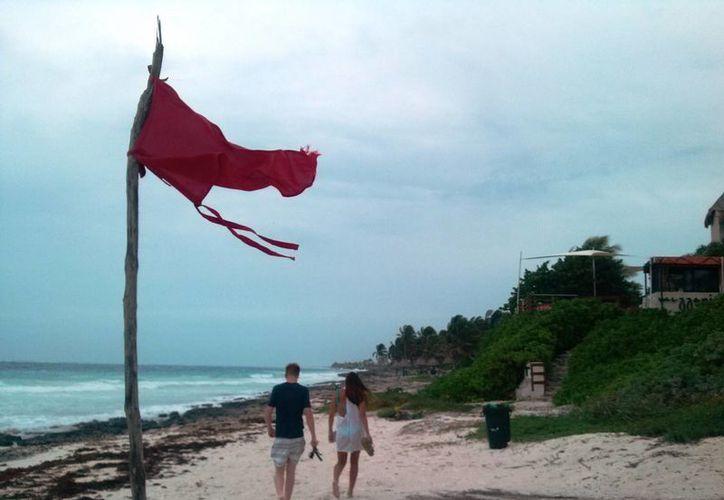 La Capitanía de Puerto ordenó la suspensión de la navegación de embarcaciones pequeñas ante el mal clima.  (Rossy López/SIPSE)