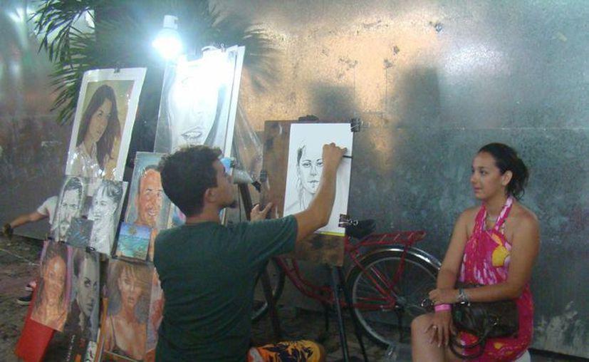 Con el nuevo reglamento, la zona turística estará limpia de vendedores ambulantes. (Adrián Barreto/SIPSE)