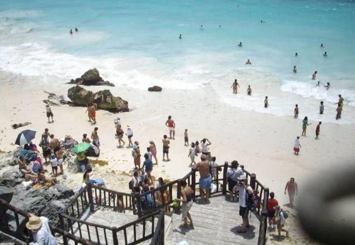 """Por el operativo vacacional """"Semana Santa Segura 2018"""", se mantiene patrullaje en Tulum. (Archivo/SIPSE)"""