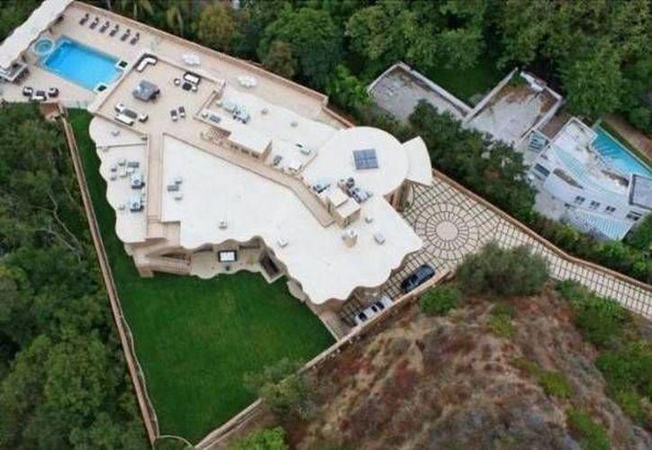 La residencia de Rihanna en Pacific Palisades. (Agencias)