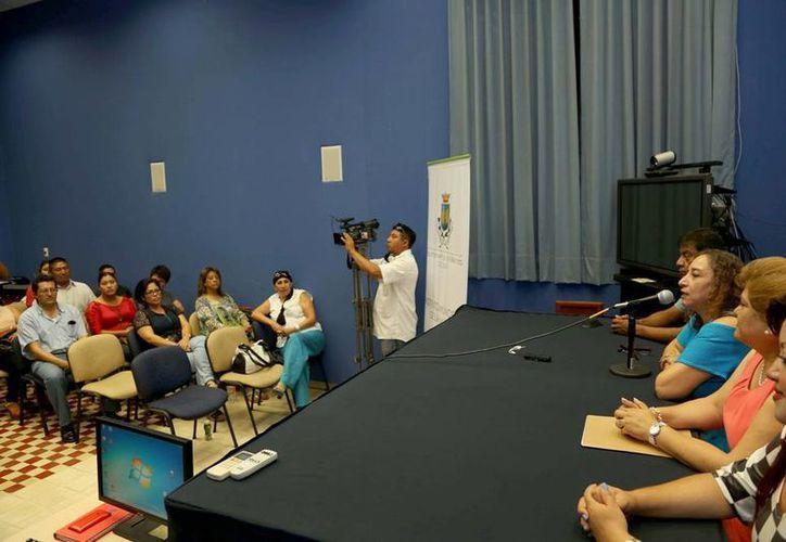 Las pláticas fueron impartidas por el Instituto Municipal de la Mujer al personal del Sindicato de Trabajadores de la UNAM. (Cortesía)