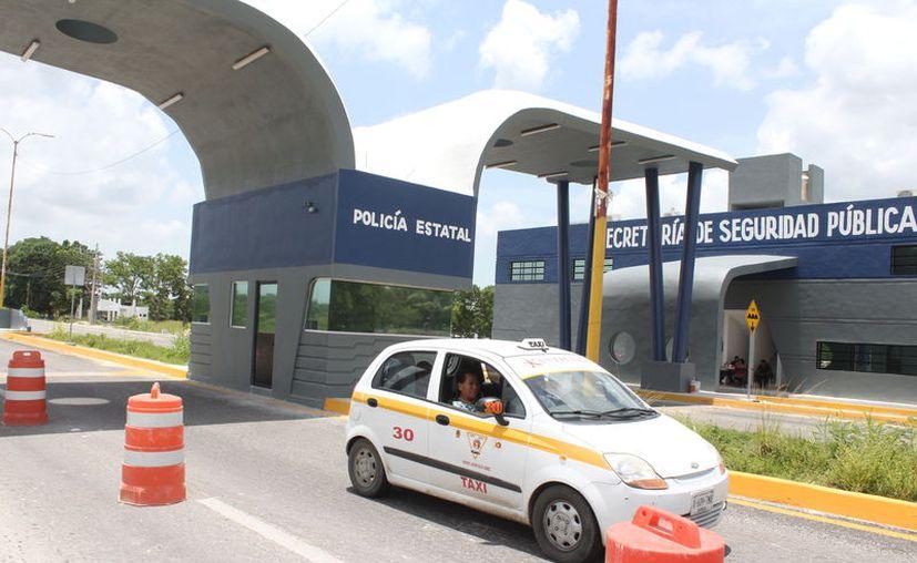 El módulo de control de seguridad en el municipio de Othón P. Blanco, tendrá una inversión de 7.4 millones de pesos. (Joel Zamora/SIPSE)