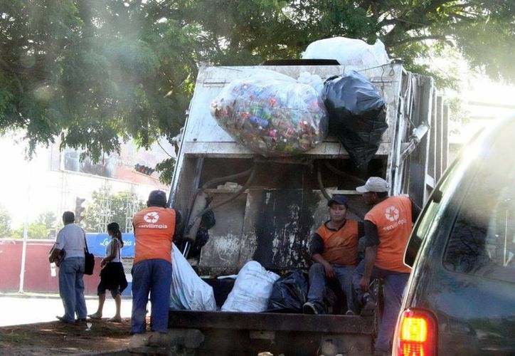 Este viernes será parcial la recolección de basura en Mérida, pues será solo en algunas colonias. (SIPSE)