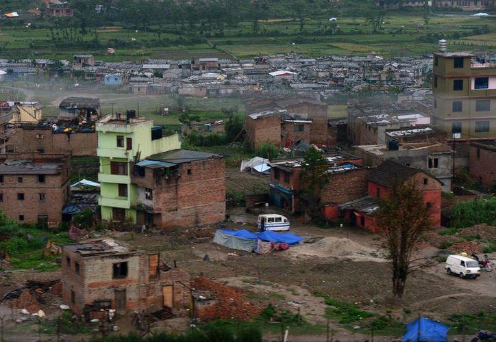 Se estima que hay ocho millones de damnificados por el terremoto en Nepal. (Notimex)
