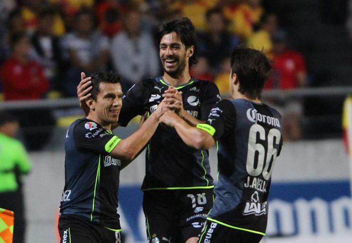 La escuadra lagunera, tercer lugar general con 24 puntos, podría convertirse en el tercer conjunto clasificado a la liguilla y quiere que Jaguares sea su sexto triunfo de la campaña. (Archivo Notimex)
