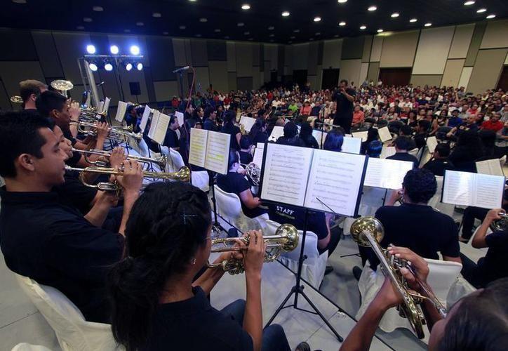 La Banda Sinfónica de Cozumel musicalizará el evento de teatro. (Foto: Contexto)