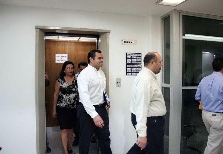 El Alcalde de Mérida se presentó el miércoles en el Congreso del Estado a plantear su proyecto. (SIPSE)