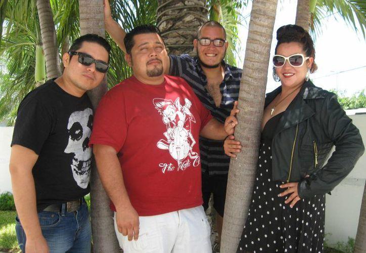 El grupo presentará el próximo mes su más reciente producción. (Alejandra Flores/SIPSE)
