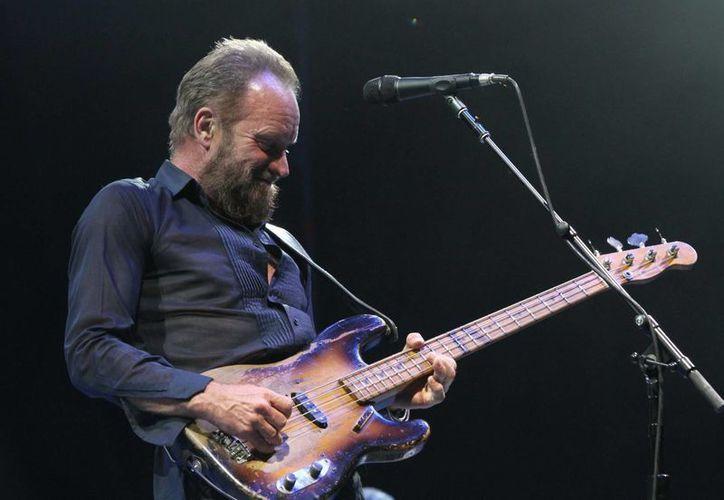 Sting brindó un concierto en Tequesquitengo, Morelia, luego de no haber estado en México durante cinco años. (Notimex)