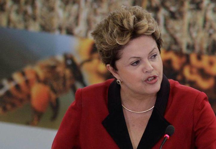 La presidenta brasileña, Dilma Rousseff. (Archivo/EFE)
