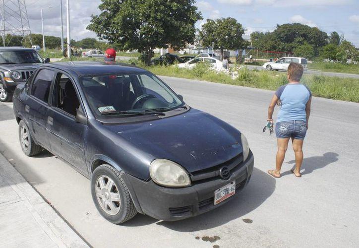 Según estadísticas de la Oficina Coordinadora de Riesgo Asegurado durante el año se logró la recuperación de 334 automóviles robados. (Sergio Orozco/SIPSE)