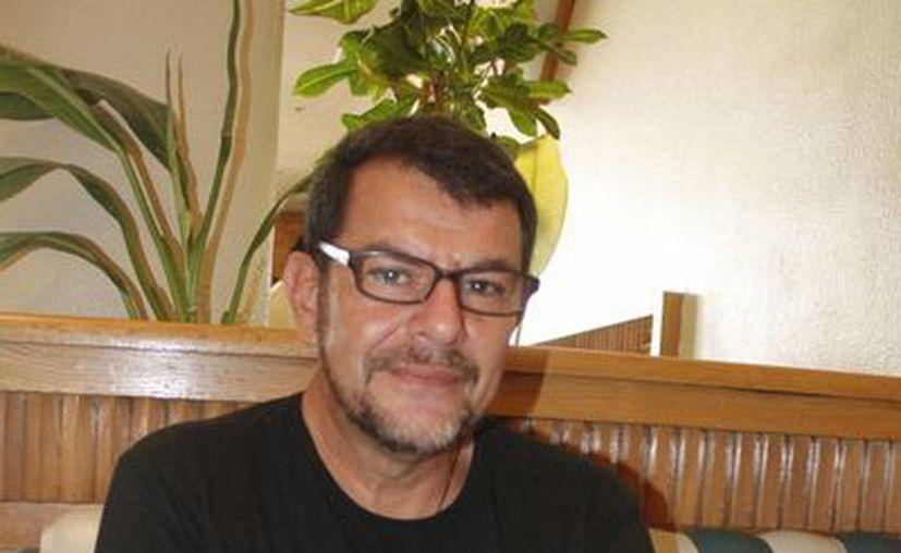 Ignacio Alcocer Orozco, coordinador del movimiento en Cancún. (Sergio Orozco/SIPSE)