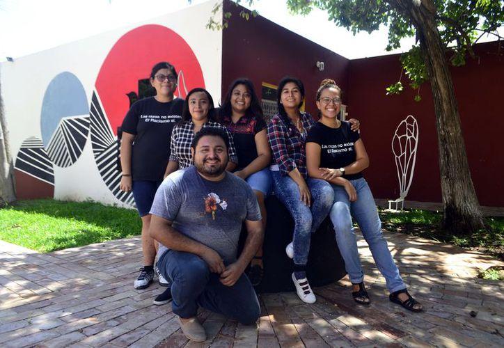 Alumnos del Cephcis de la UNAM. (Daniel Sandoval/Milenio Novedades)