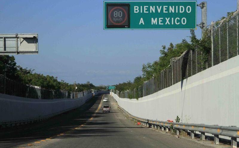 Resultado de imagen para bienvenidos a mexico frontera