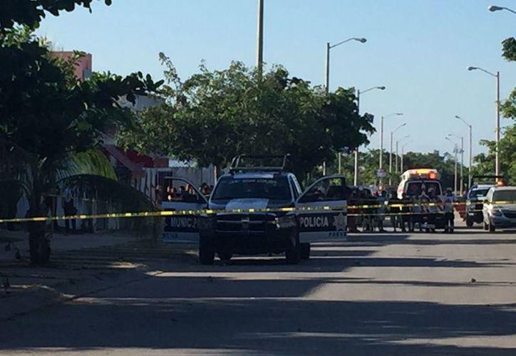 El policía conocido como 'El Chuchul', presentó varios impactos de bala en la cara. (Foto: Eva Murillo)