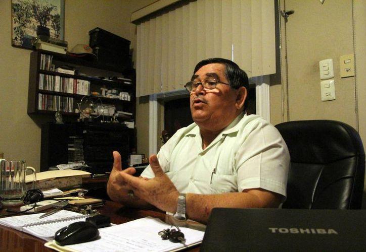Carlos Castellanos Peraza, presidente de la Ficeme, Invita a las autoridades a realizar inspecciones permanentes. (Milenio Novedades)