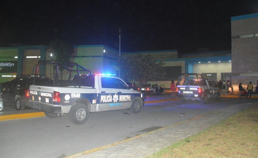 Cuando elementos de Seguridad Pública llegaron al lugar de los hechos, no había rastro ni de los delincuentes ni del herido. (Foto: Redacción/SIPSE).